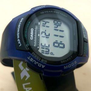 Casio Accessories - Casio Lap Timer Sports Watch